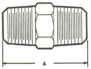122A Hex Nipple Fittings