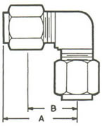 965A Elbow, Tube Both Ends Fittings