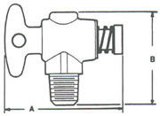 Drain Valves T Handle MPT to Drain