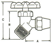 Oil Tank Valves Flare to MPT